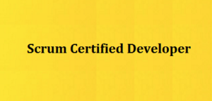 Certified Scrm Developer